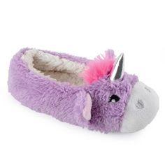 4 Kids UK Sizes Girls Super Cute Grey Mouse Cosy Fleece Ballerina Slippers
