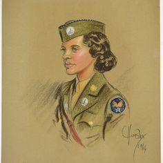 Vintage de la seconde guerre mondiale Portrait  par ReCreative85