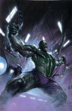 Hulk by Gabriele Dell'Otto