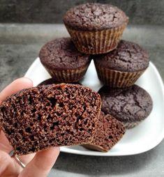 Csokis, gluténmentes paleo muffin (tejmentes, hozzáadott cukortól mentes) – Éhezésmentes karcsúság Szafival