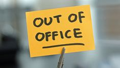 Here are some examples of formal and funny out of office messages you can try for sick leave, holiday, vacation or as your auto reply message. Out Of Office Reply, Out Of Office Message, Marketing Automation, Home Automation, Auto Reply Message, Fmla Leave, Attendance Policy, Absence Management, Conference Board