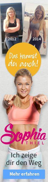 Fit, schlank und glücklich - mit Sophia Thiels Online Programm!