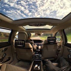 Mercedes Benz Maybach interior