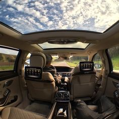 23d5892c26a In the Mercedes-Maybach S600 it s okay to have your head in the clouds.