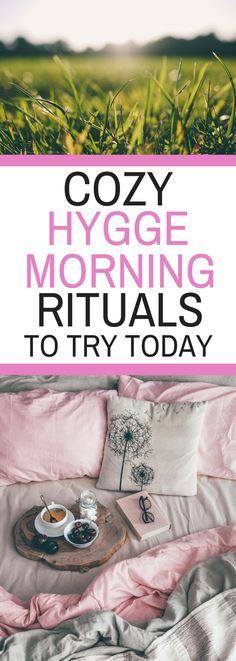 Cozy Hygge Morning Rituals to Try Today | Montana Happy