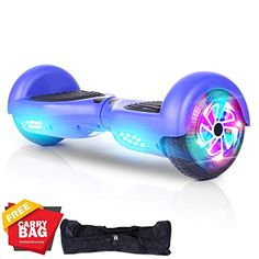 SWEETBUY Hoverboards UL Certified Smart Scooter Two-Wheel self Balancing Electric Scooter Light Free Bag and Charger Included Hdmi Projector, Flying Ants, Moped Scooter, Kid N Teenagers, Board For Kids, Dirtbikes, Mini Bike, Electric Scooter, Birthday Presents