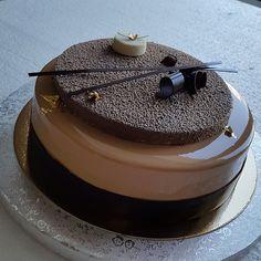 Caramel-mocha/кофейно-карамельный #patissier #patisserie#pastry #pastryart…