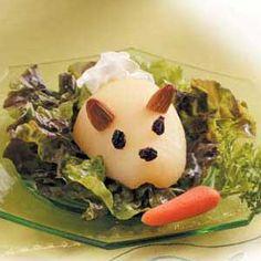 Bunny Pear Salad Recipe