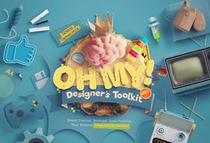 Oh My! Designer's Toolkit by LS on @creativemarket
