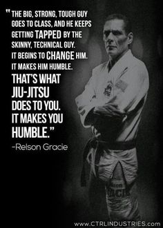 Honored to say he was my former teacher. Humility in BJJ