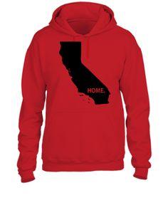 california home BLACK - UNISEX HOODIE