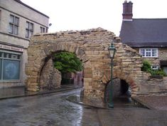 Modern commuters still pass through this 2,000-year-old Roman archway.