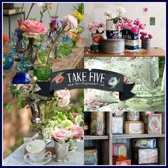 Take 5:  Vintage Vignettes