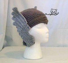 Thor Helmet-Crochet Pattern