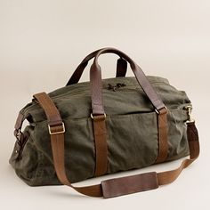 Abingdon duffle weekender by J. Crew    (First thing on my want list that I actually got!!!!)