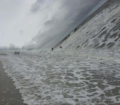 """psyducked: """" stunningpicture: """" Failed panoramic. """" oh, you know, just casually photographing the apocalypse """""""