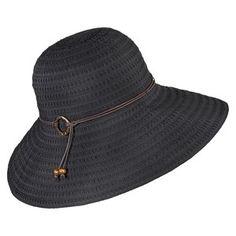Merona® Packable Floppy Hat - Black