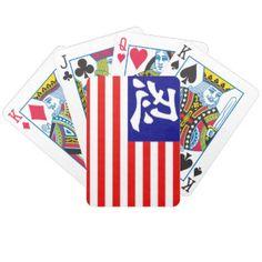 American Ninja Playing Cards