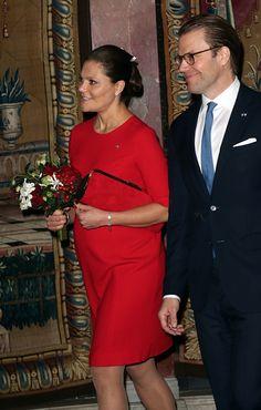 HRH Crown Princess Victoria and Prince Daniel of Sweden Nov. 5, 2015