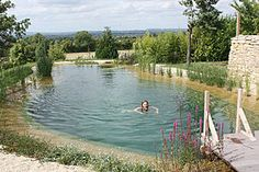 Discover all the information about the product In-ground swimming pool / stone / natural / outdoor PRINCES RISBORO BUCKS - Gartenart and find where you can buy it. Swimming Pool Pond, Natural Swimming Ponds, Natural Pond, Swimming Pool Designs, Natural Garden, Dream Pools, Cool Pools, Outdoor Pool, Backyard Pools