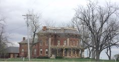 Pella House, Pella Iowa  About 4 miles from where I grew up :-)  It is BEAUTIFUL on the inside as well!!
