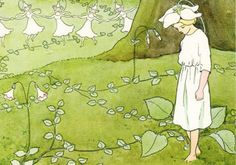 Flower girl...one of Elsa Beskow's amazing illustrations
