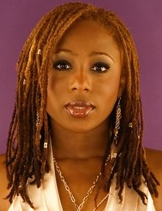 Kurlee Belle: Mad Hair Monday Models: It's all about Locs!--thinking about this color for my locs, from light to dark