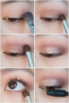 Valentines Makeup Tutorial Valentine's Day makeup beauty tutorial Stila Glitter and Glow Liquid Eye Shadow Rose Gold Lorac Unzipped Palette Maybelline Rocket Volume mascara Stila Liquid Eyeshadow, Natural Eyeshadow, Eyeshadow Makeup, Stila Glitter And Glow, Glitter Makeup, Prom Makeup, Make Up Looks, Glitter Eyeshadow Tutorial, Eyeshadow Tutorials