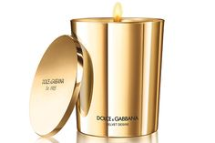 Dolce & Gabbana Velvet Desire Candle    What it Smells Like: A blend of intense, heady florals like gardenia and tuberose. Bonus: the gold packaging is absolutely stunning and it comes with a matching lid (nobody likes dust in their candles).    Perfect for: Your boyfriend's mom.