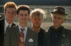 Depeche Mode with Vince Clarke