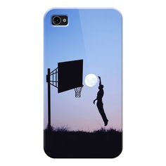 iPhone 6 Plus/6/5/5s/5c Case - Basketball Moon (190 VEF) ❤ liked on Polyvore featuring accessories, tech accessories, iphone case, apple iphone cases and iphone cover case