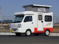Honda N-Truck plus other whacky stuff from Japan Camping Car Show