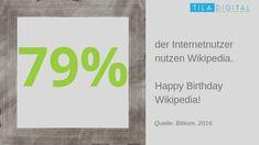 Und wiederum 79 Prozent der Nutzer vertrauen auf die Inhalte von #Wikipedia