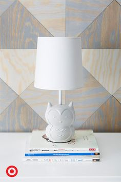 This Sweet White Owl Table Lamp Is A Perfect Light For Baby S Nursery It Will