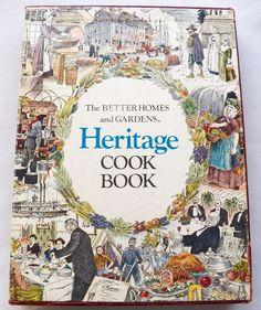 $5.00Better Home & Gardens Heritage Cook Book 1977 HC Box (61316-122) vintage cookbook