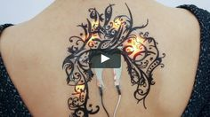 Fashionable, interactive, wearable, electronic tattoos integrated directly on the skin.  Skintillates is a wearable technology that mimics tattoos - the oldest…