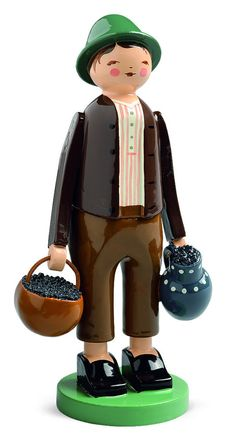 Berry Picker - Boy - Classic Folk Art from Wendt and Kuehn | FIND at My Growing Traditions