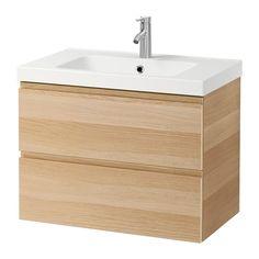 GODMORGON / ODENSVIK Armario lavabo 2 cajones IKEA 10 años de garantía. Consulta las condiciones generales en el folleto de garantía.