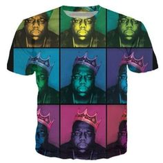 Women Men Fashion Clothing Sport Tops Tie Dye tees Notorious B.I.G. Biggie Smalls 2Pac Tupac 3d T-Shirt Summer Style Plus Size
