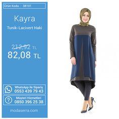 Bu haftanın ürünlerinden Kayra Tunik-Lacivert Haki : http://goo.gl/iWwIwN