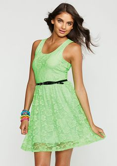 dELiAs > Neon Lace Dress > dresses >