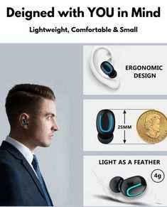 Popular HBQ Wireless Earbuds with True Bass and clear sound. We are selling these wireless earbuds at the best price. Noise Cancelling Earbuds, Wireless Speakers, Bluetooth Headphones, Mobile Accessories, Phone Accessories, Logitech Speakers, Funny Tattoos, Tech Gifts, Intense Workout