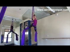 """Learn how to do the a single """"Fallen Angel"""" with Jill Franklin of Aerial Physique. To learn more visit www.aerialphysique.com. ORDER BEGINNERS GUIDE TO AERIA..."""