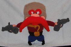 Ravelry: FREE Pattern = Yosemite Sam A Crochet Pattern pattern by Erin Scull