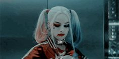 gif, harley quinn, and margot robbie εικόνα