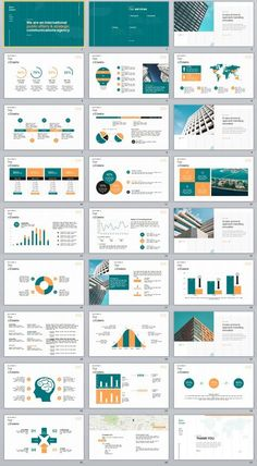 27+ company cool introduction chart PowerPoint template