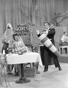 I Love Lucy: episode where Lucy pretends to be the Maharincess of Franistan, Ricky's biggest fan.