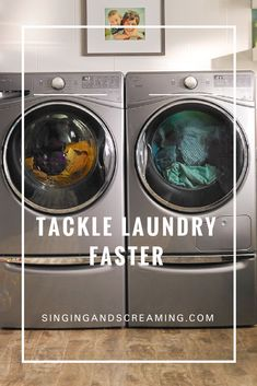 I can't keep up some days but these tips, inspired by friends and my mother-in-law are sure to help! #laundry #cleaning #moms