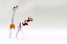 Vitro Vas Yellow Glass Vase by Sarah Colson Ltd made in United Kingdom (UK) on CROWDYHOUSE  #design #milandesignweek #venturalambrate