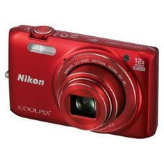 I'm learning all about Nikon S6800 16MP Digital Camera with 12 X Optical Zoom - Red at @Influenster!